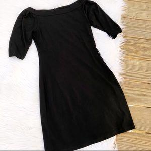 Laundry By Shelli Segal Black Mini Dress